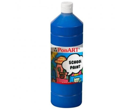 PONART SCHOOL PAINT BOYA K.MAVİ 250 ml