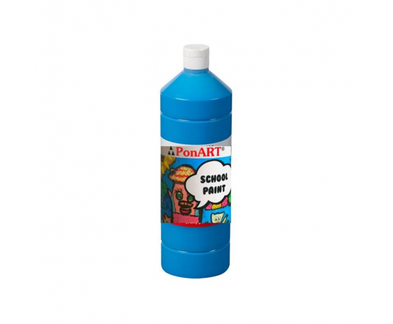 PONART SCHOOL PAINT BOYA P.PRİ MAVİ 250 ml