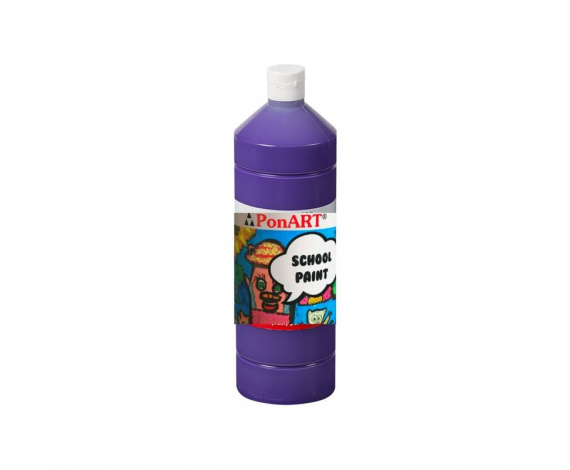 PONART SCHOOL PAINT BOYA VIOLET 250 ml